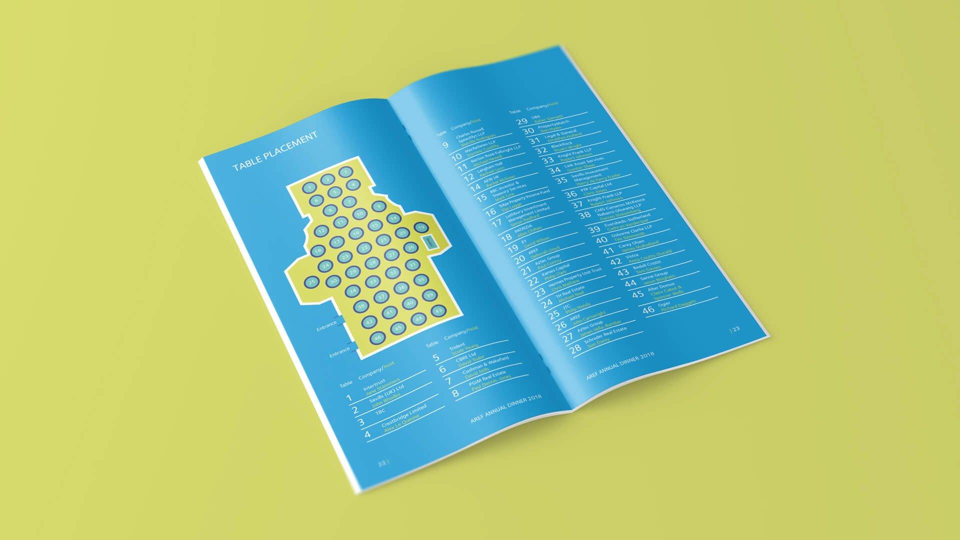 AREF Dinner Booklet