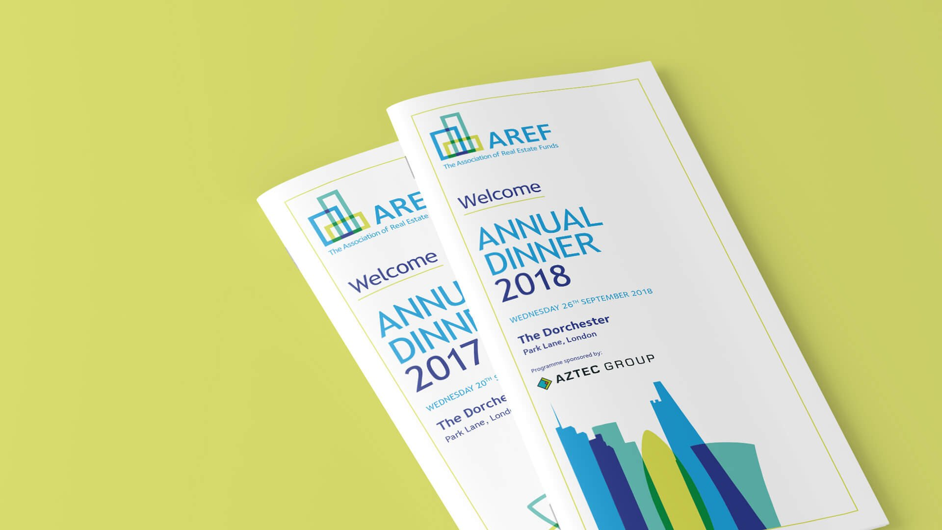 AREF Dinner Booklets