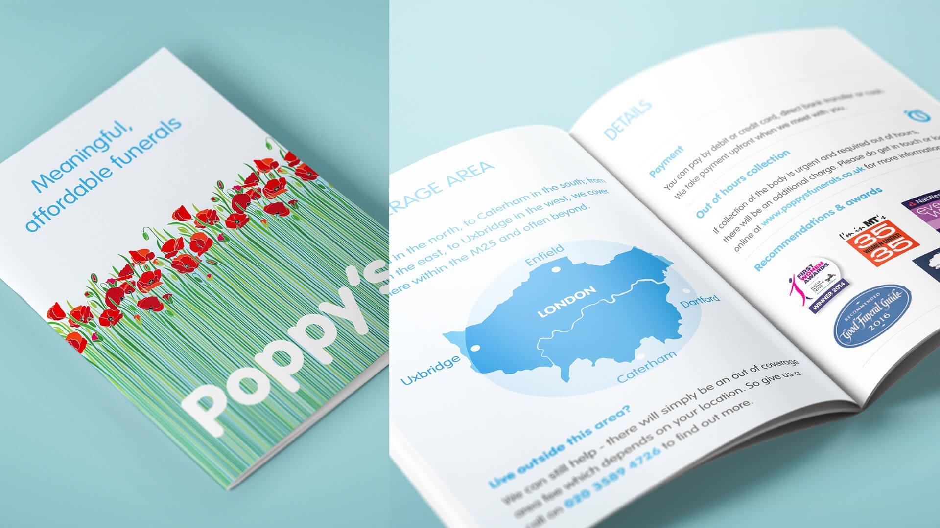 Poppy's Funerals Brochure