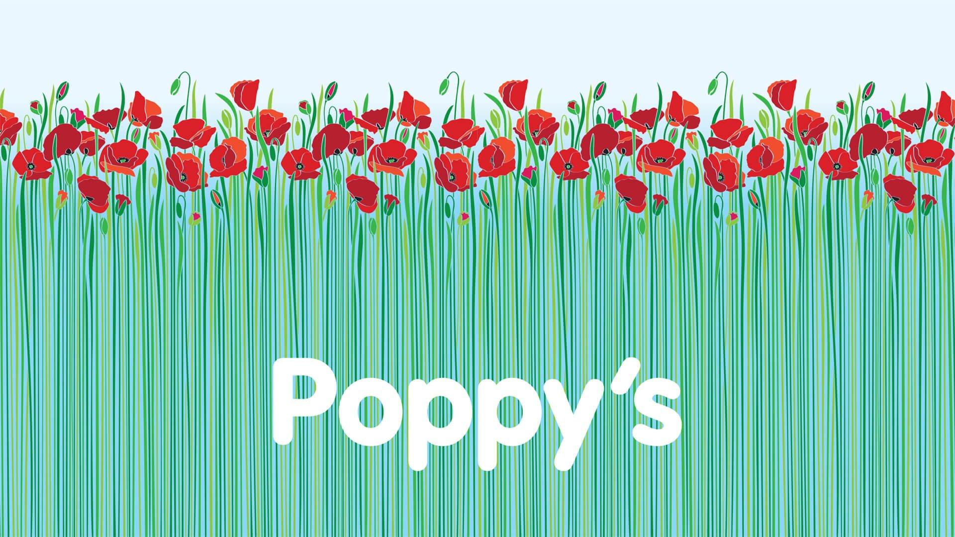 Poppy's Funerals Logo