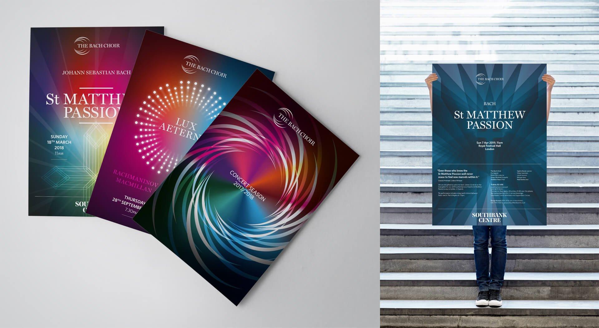 The Bach Choir 2018 Season and Poster