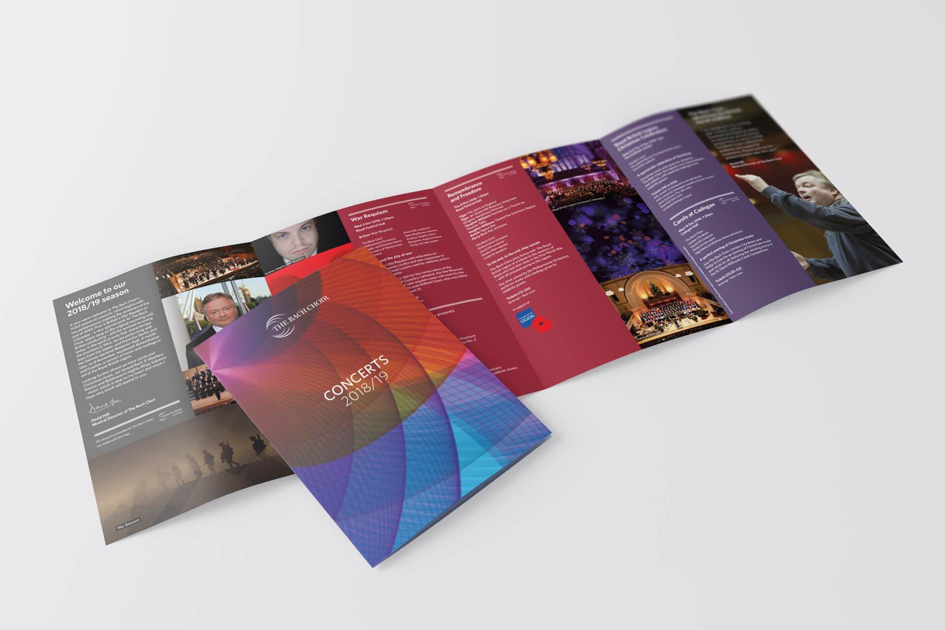 The Bach Choir Season Brochure